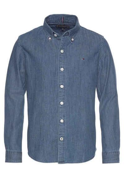 91b44d011c7f96 Tommy Hilfiger T-Shirt »DENIM SHIRT L S«