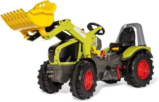 rolly toys® Trettraktor »rollyX-Trac Premium Claas Axion 960«, mit Frontlader, Schaltung und Bremse