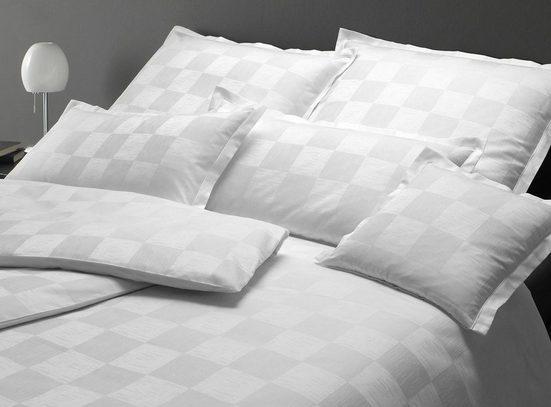 Bettwäsche »Merano«, Elegante, gewebtes Muster