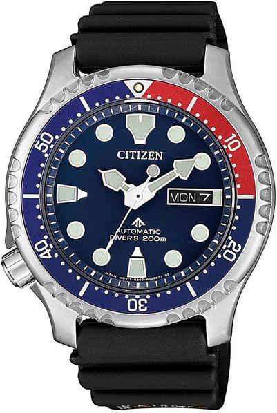Citizen Taucheruhr »Promaster Marine Automatic Diver, NY0086-16LE«