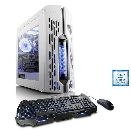 CSL HydroX T5730 Wasserkühlung Gaming-PC (Intel Core i5, GTX 1050 Ti, Wasserkühlung)