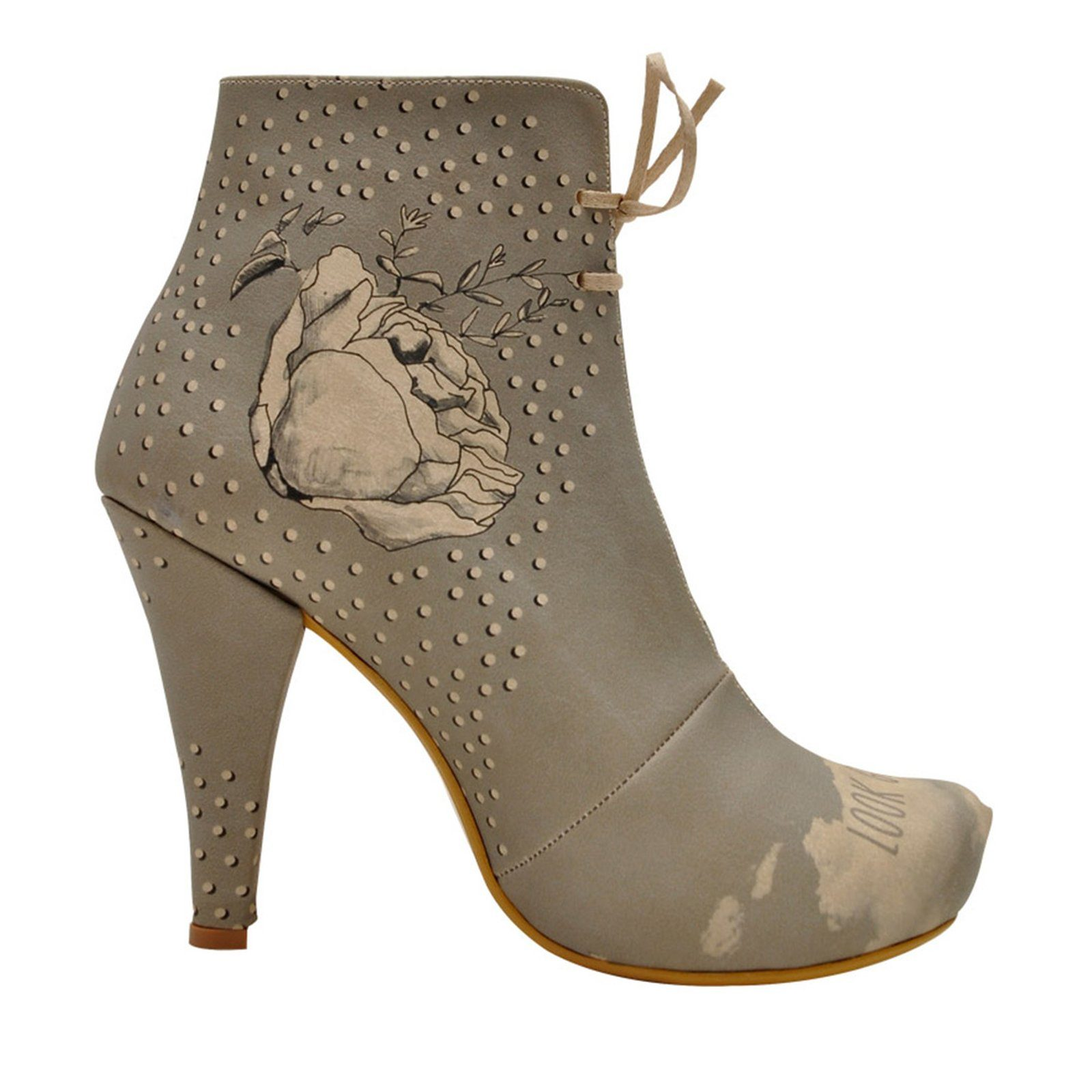 Gorgeous« stiefelette heel »look Dogo High Vegan thdsQrCx