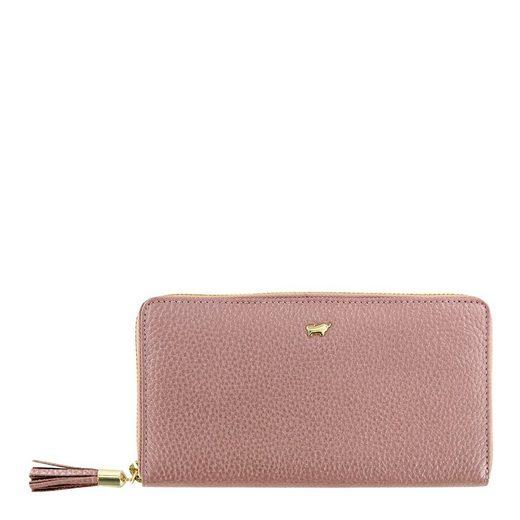 Braun Büffel Brieftasche »ALESSIA«, aus genarbtem Rindleder