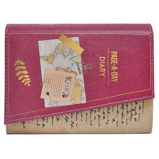 DOGO Clutch »Diary«, Vegan