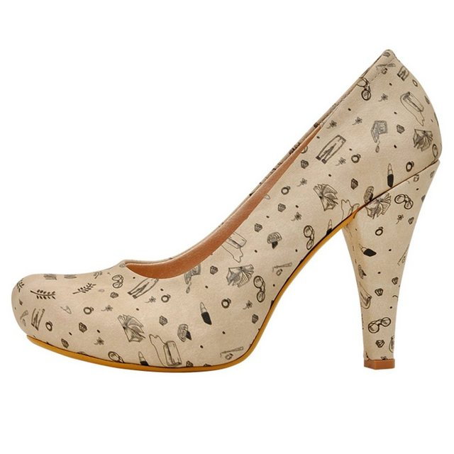 DOGO »Be Beautiful and Smart« High-Heel-Pumps Vegan | Schuhe > High Heels > High Heel Pumps | DOGO