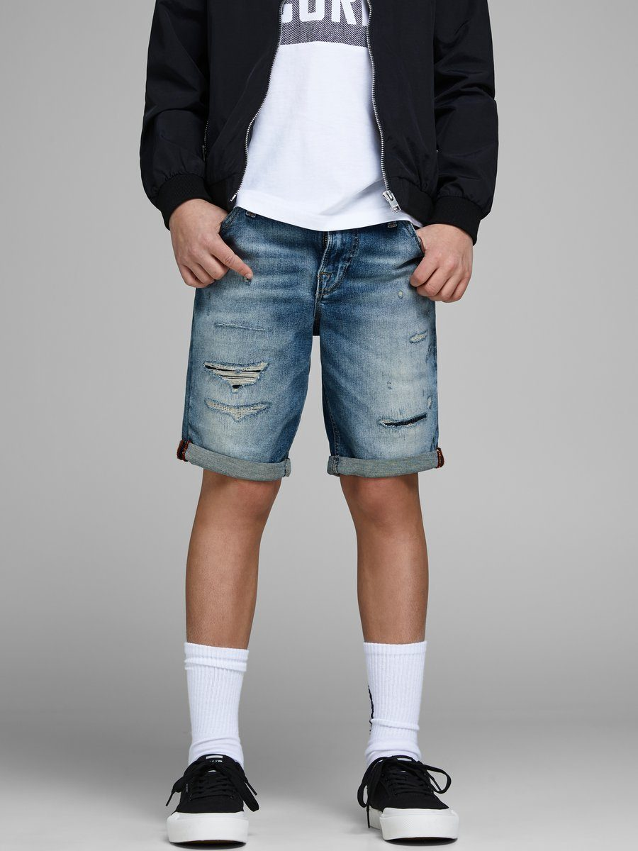 Jack & Jones Boys Superstretch Jeansshorts