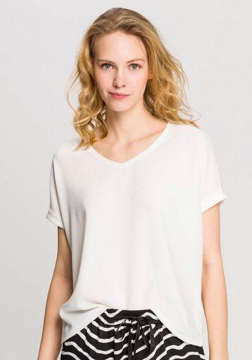 OPUS Kurzarmshirt »Suminchen« im lässigen Oversize-Look