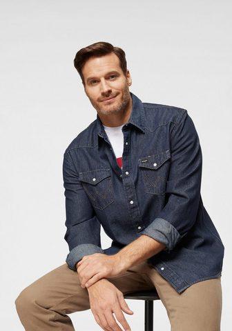 Рубашка джинсовая »Western Shirt...