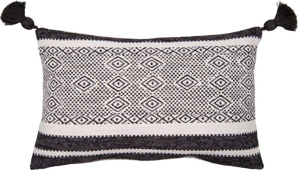 Kissenbezug Mixed Pattern Tom Tailor Mit Pompons Online Kaufen Otto