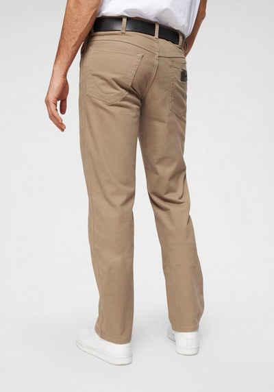 Wrangler Hose Herren Jeans Classic Straight Bostin Stretch Beige