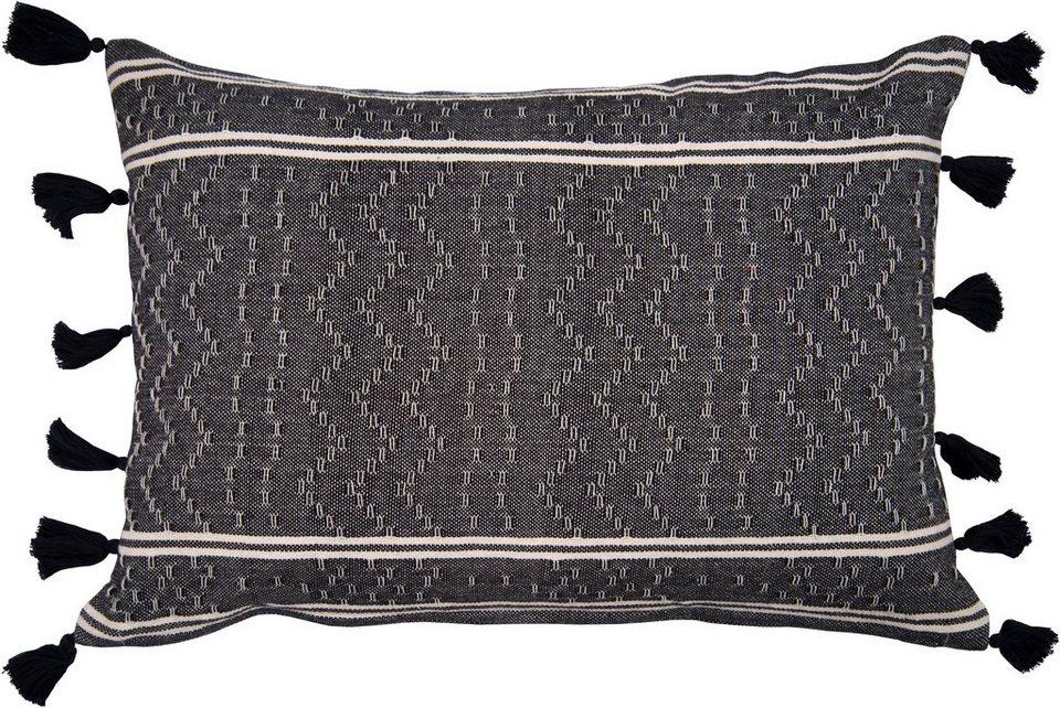 Kissenbezug Light Stripes Tom Tailor Mit Kleinen Pompons Online Kaufen Otto