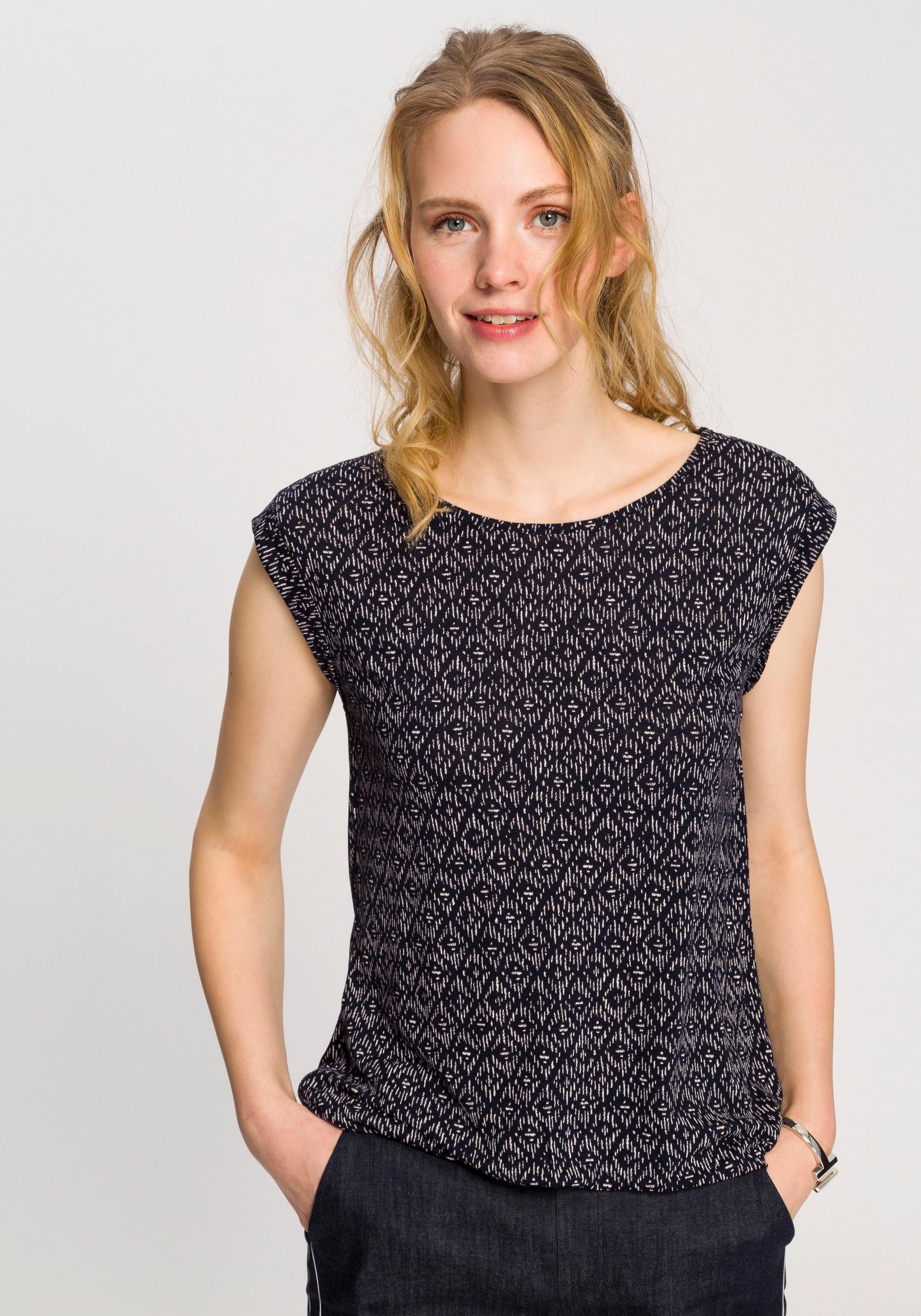 Damen OPUS Blusenshirt »Strolchi« mit graphischem Alloverprint  | 04251200694155