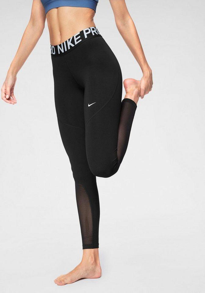 Damen Nike Funktionstights »W NP TGHT NEW« schwarz  Sport Damen lange Sporthosen (eng)