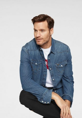 WRANGLER Džinsiniai marškinėliai »Western Shirt...