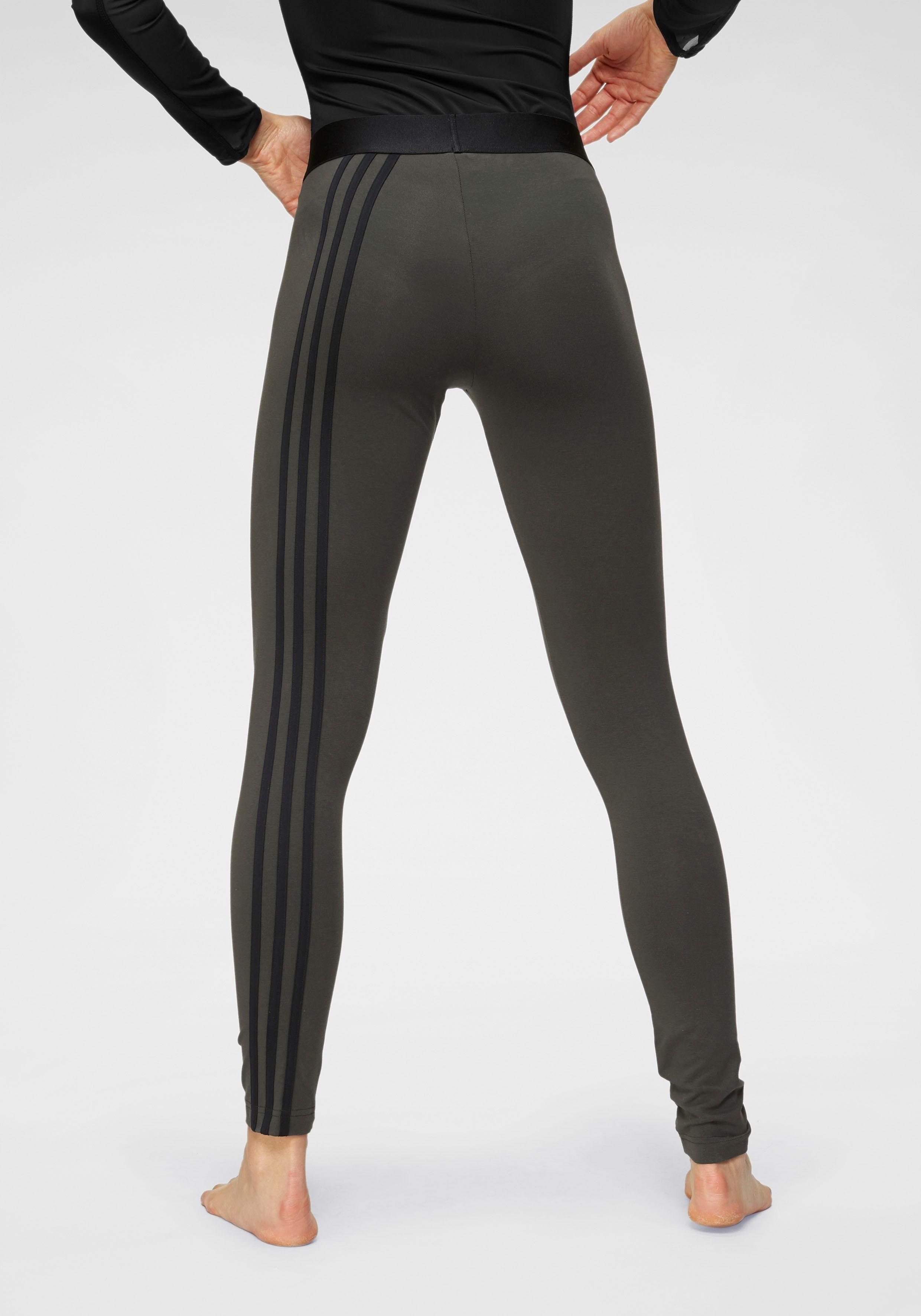 adidas Performance Leggings »ESSENTIALS 3 STRIPES TIGHT« auch in großen Größen online kaufen | OTTO