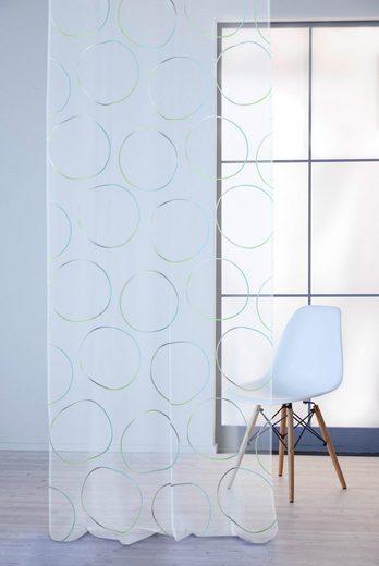 Vorhang »Tico«, APELT, Ösen (1 Stück), Ausbrenner, Ösenschal