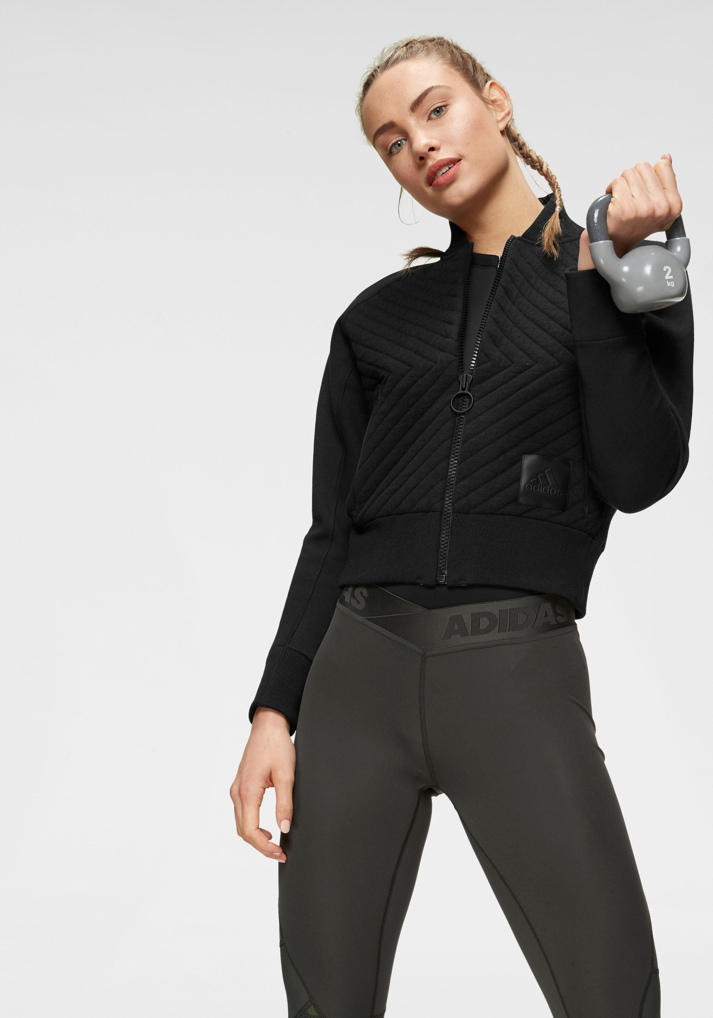 adidas Performance Sweatjacke »VRCT JACKET HB« einfach
