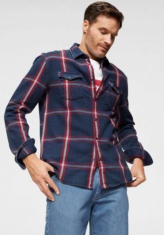 WRANGLER Marškiniai ilgomis rankovėmis »LS WEST...