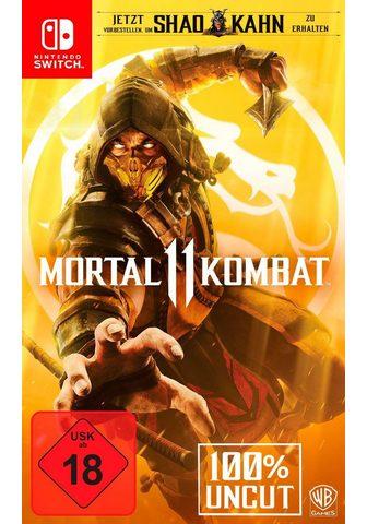 WARNER GAMES Mortal Kombat 11 Nintendo Šakotuvas