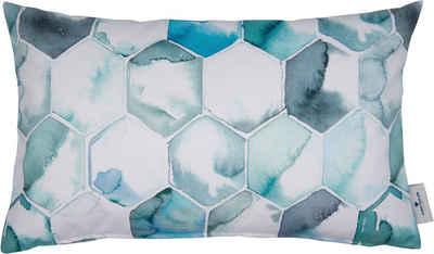 Kissenbezug »Soft Aquarell«, TOM TAILOR (1 Stück), mit zartem Farbspiel