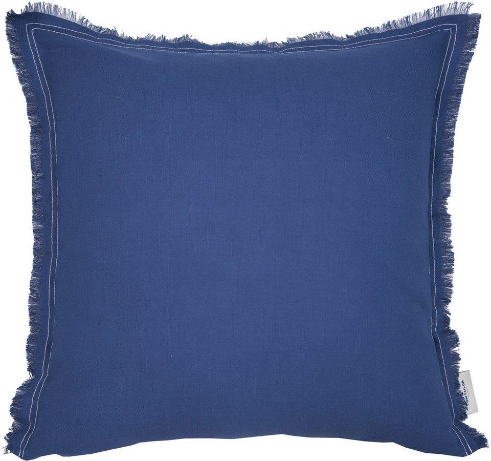 Kissenbezug Easy Cotton Tom Tailor Mit Fransenrusche Online Kaufen Otto