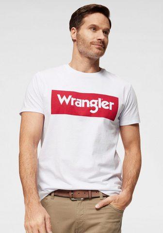 WRANGLER Marškinėliai »SS LOGO TEE«