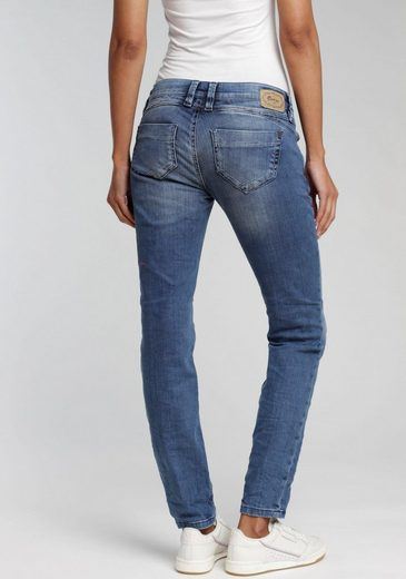 GANG Slim-fit-Jeans »Nikita« mit Zipper Coinpocket