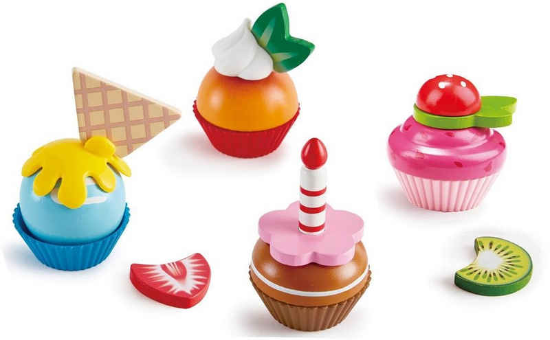 Hape Spiellebensmittel »Cupcakes«, (18-tlg)