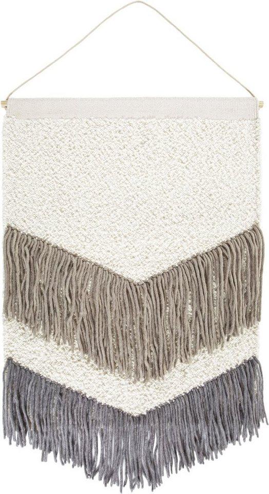 Wandteppich »Skagen 3«, LUXOR living, rechteckig, Höhe 10 mm, Mit Aufhängung   Heimtextilien > Teppiche > Wandteppich   Wolle   LUXOR living