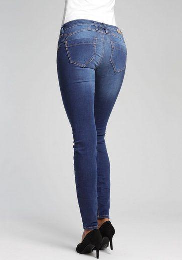 GANG Skinny-fit-Jeans »Nena« mit Used-Effekten