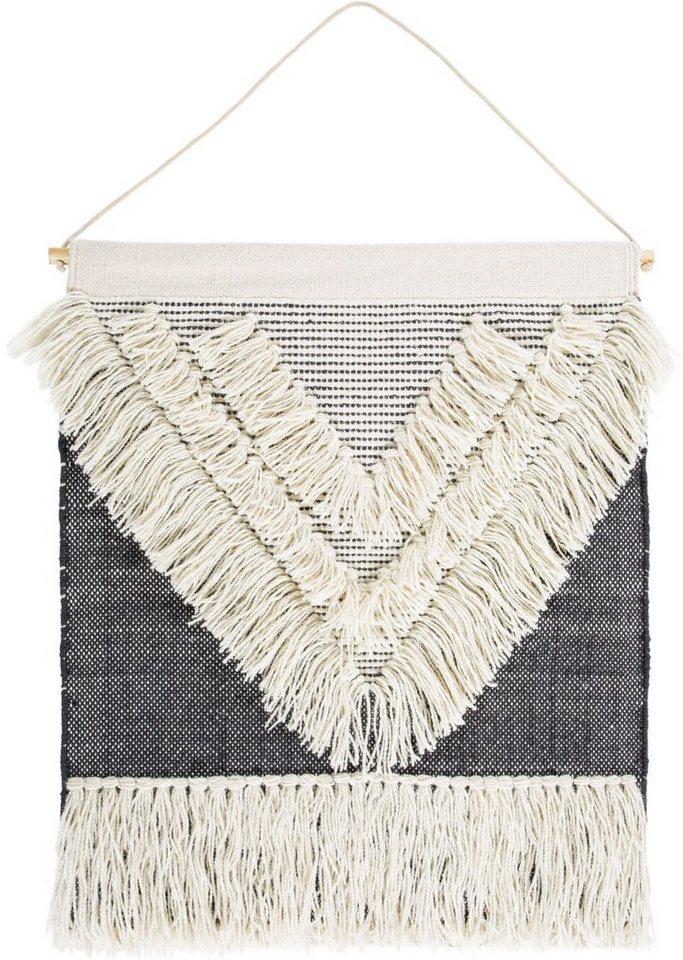 Wandteppich »Skagen 1«, LUXOR living, rechteckig, Höhe 10 mm, Mit Aufhängung   Heimtextilien > Teppiche > Wandteppich   Grau   Wolle   LUXOR living