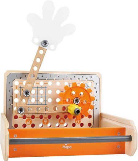 Hape Spielwerkzeugkoffer »Tüftler Werkzeugkasten«, (32-tlg), aus Holz