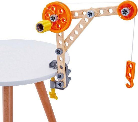 Hape Konstruktionsspielsteine »Bausatz für Tüftler«, (37 St)