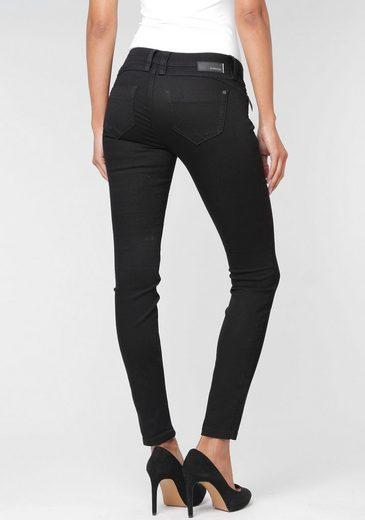 GANG Skinny-fit-Jeans »Nikita« mit Zipper-Detail an der Coinpocket