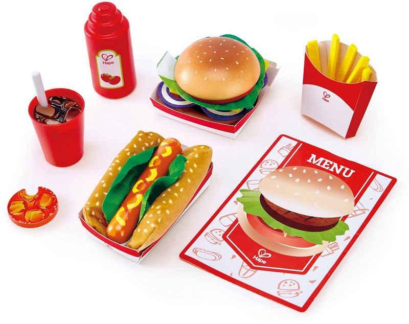 Hape Spiellebensmittel »Fastfood-Set«, (27-tlg)