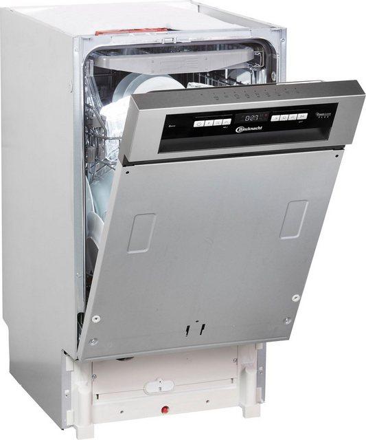 BAUKNECHT teilintegrierbarer Geschirrspüler, BSBO 3O35 PF X, 9 l, 10 Maßgedecke | Küche und Esszimmer > Küchenelektrogeräte > Gefrierschränke | Bauknecht