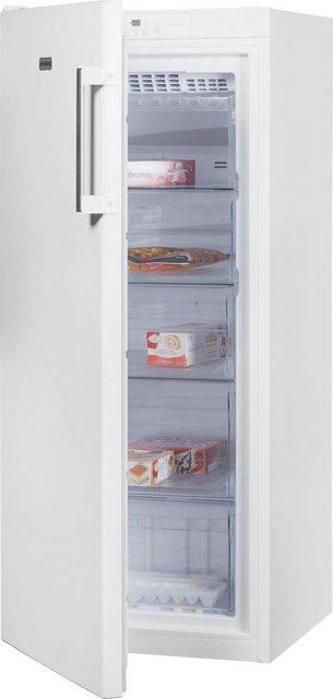 Küchengroßgeräte - Privileg Gefrierschrank PFVN 246W, 142,0 cm hoch, 59,5 cm breit  - Onlineshop OTTO
