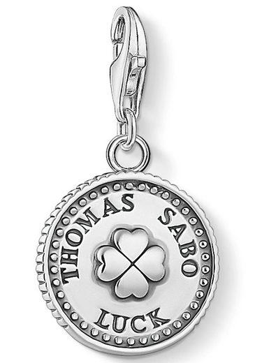 THOMAS SABO Charm-Einhänger »Coin Kleeblatt, 1772-637-21«