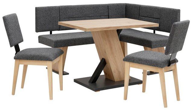 Essgruppen - Home affaire Eckbankgruppe »Zeppelin«, (Eckbank, Tisch und 2 Stühle)  - Onlineshop OTTO