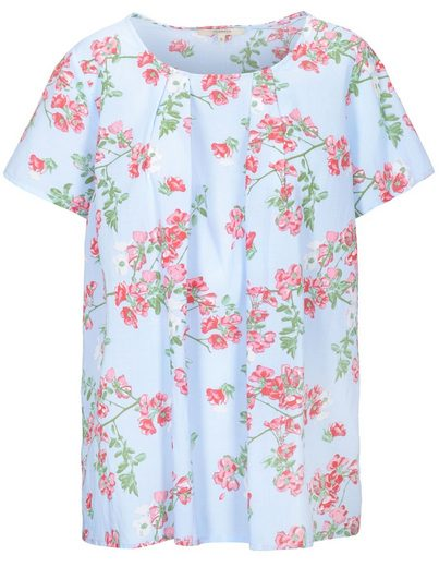 Clarina Shirtbluse mit Blumenprint