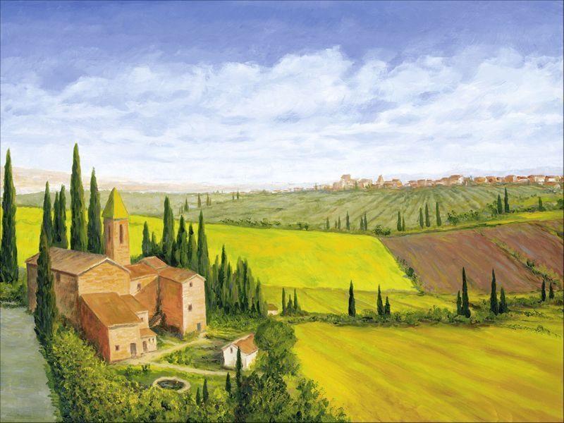 Artland Wandfolie »Andres: Stadt in der Toskana«
