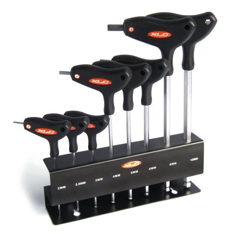 XLC Werkzeug & Montage »TO-S32 T-Form Innensechskantschlüsselset«