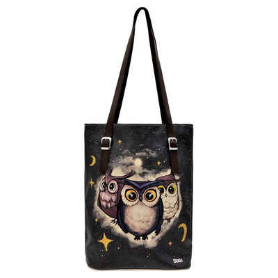 DOGO Umhängetasche »Owls Family«, Vegan