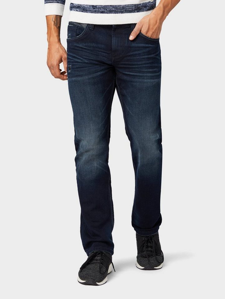 TOM TAILOR Straight-Jeans »Marvin Straight Jeans«   OTTO
