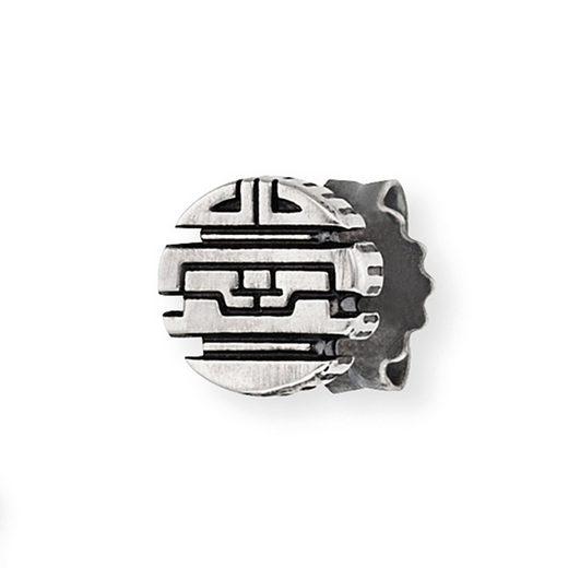 CAÏ Ohrstecker »925/-Sterling Silber rhodiniert oxidiert«