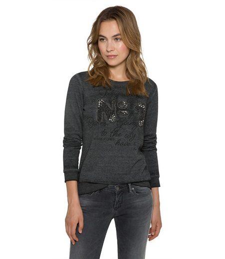 SOCCX Sweater mit angerauter Innenseite