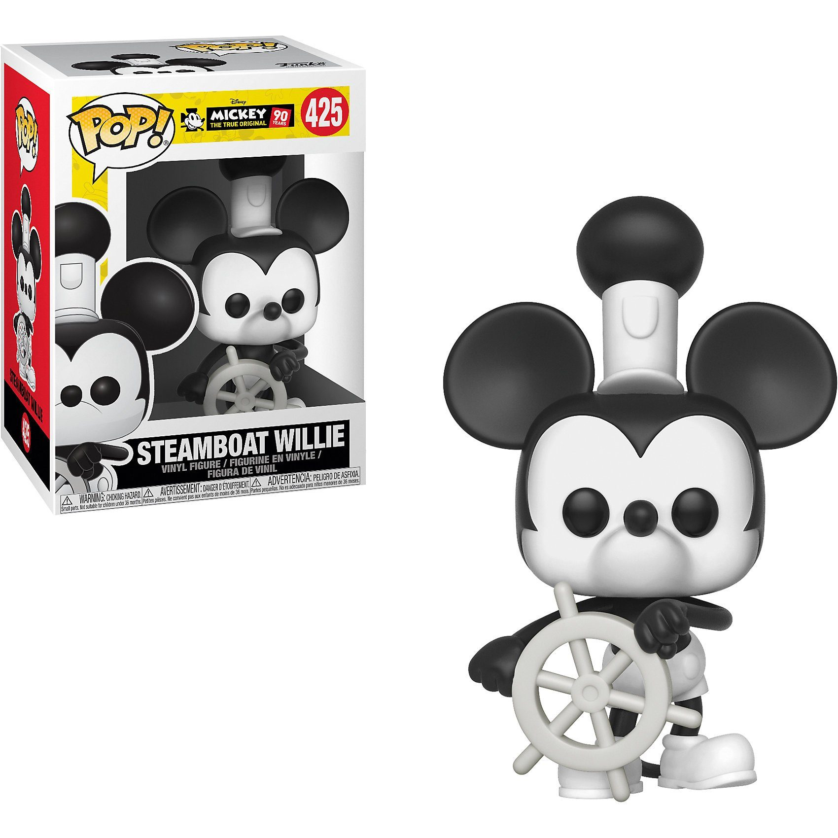 Funko POP! Disney: Mickey's 90th - Steamboat Willie
