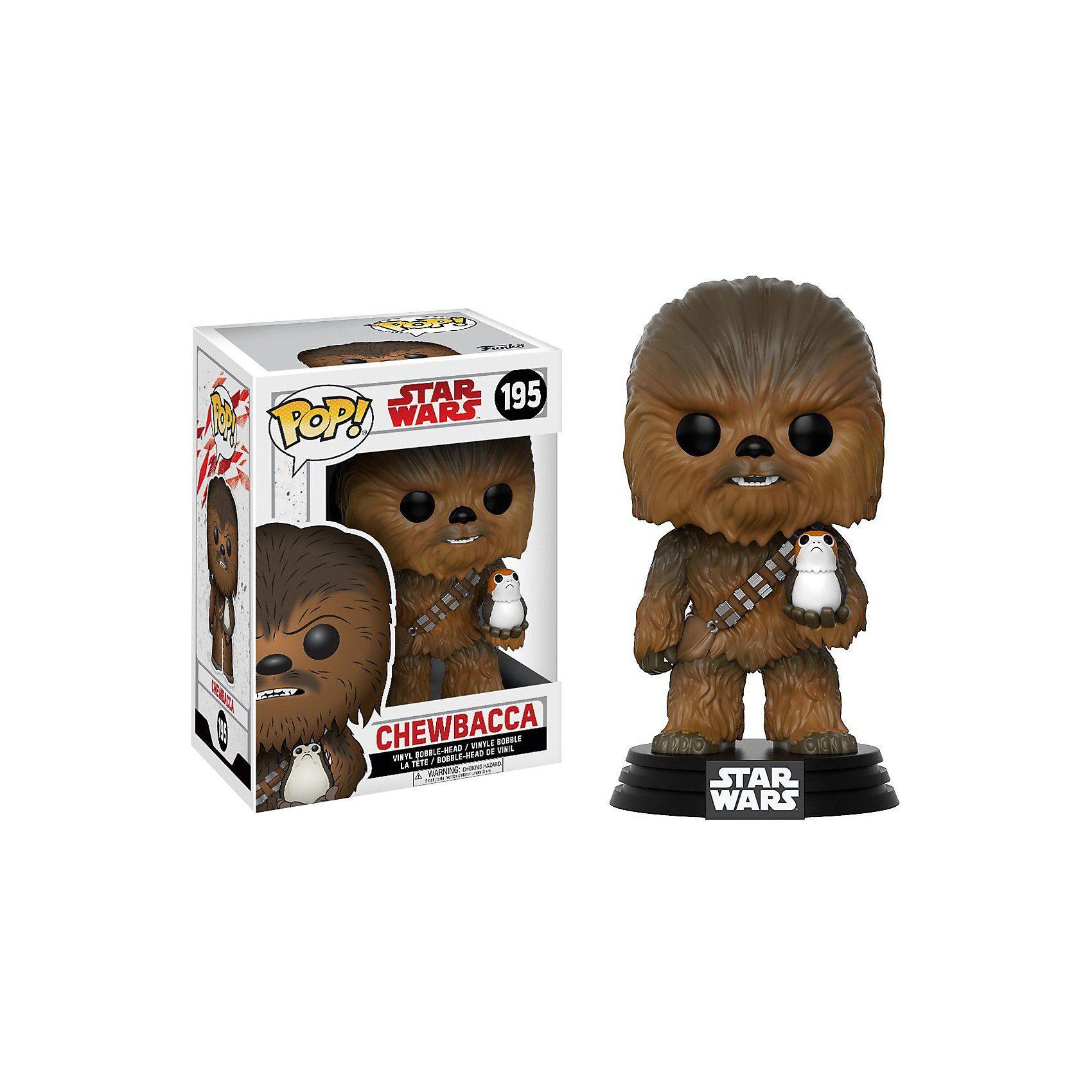 Funko POP! Star Wars: TLJ- Chewbacca & Porg