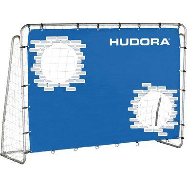 Hudora Fußballtor Trainer mit Torwand, 213 cm