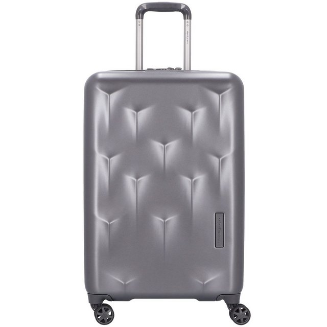 Hedgren Edge Carve 4-Rollen Trolley 66 cm | Taschen > Koffer & Trolleys > Trolleys | Grau | Hedgren